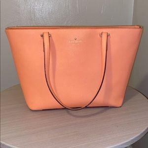 Kate Spade|| coral pinkish medium handbag